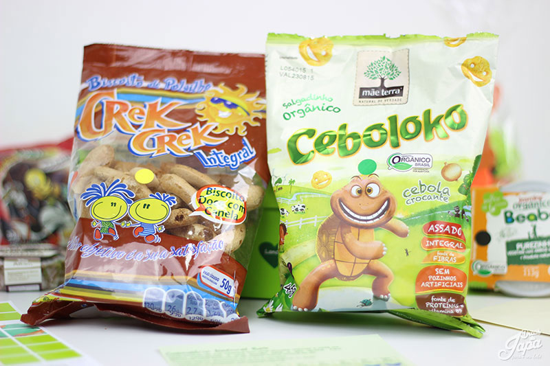 natural-box-Biscoito de Polvilho Integral sem Gluten Crek Crek-Ceboloko Salgadinho Organico