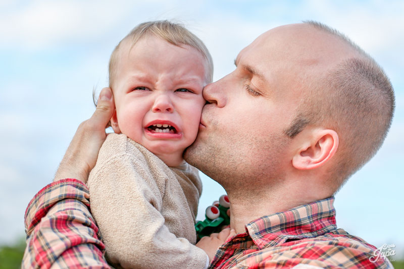 10 coisas que preciso ensinar para meu filho - chorar