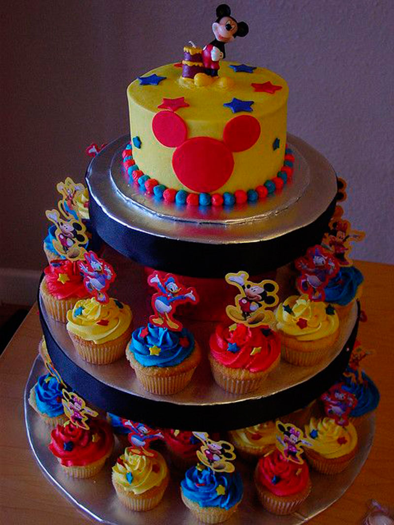 Cupcake do Mickey-2