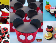 Cupcake do Mickey- 33 incríveis ideias