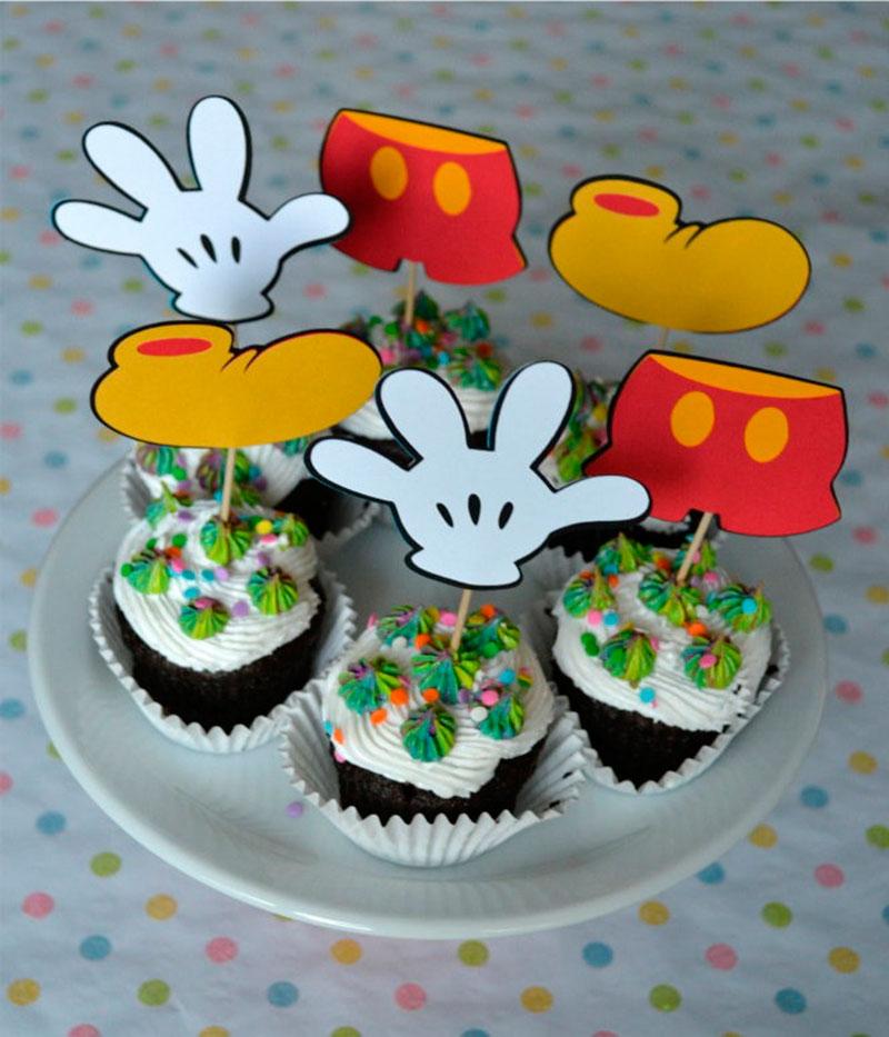 Cupcake do Mickey-4