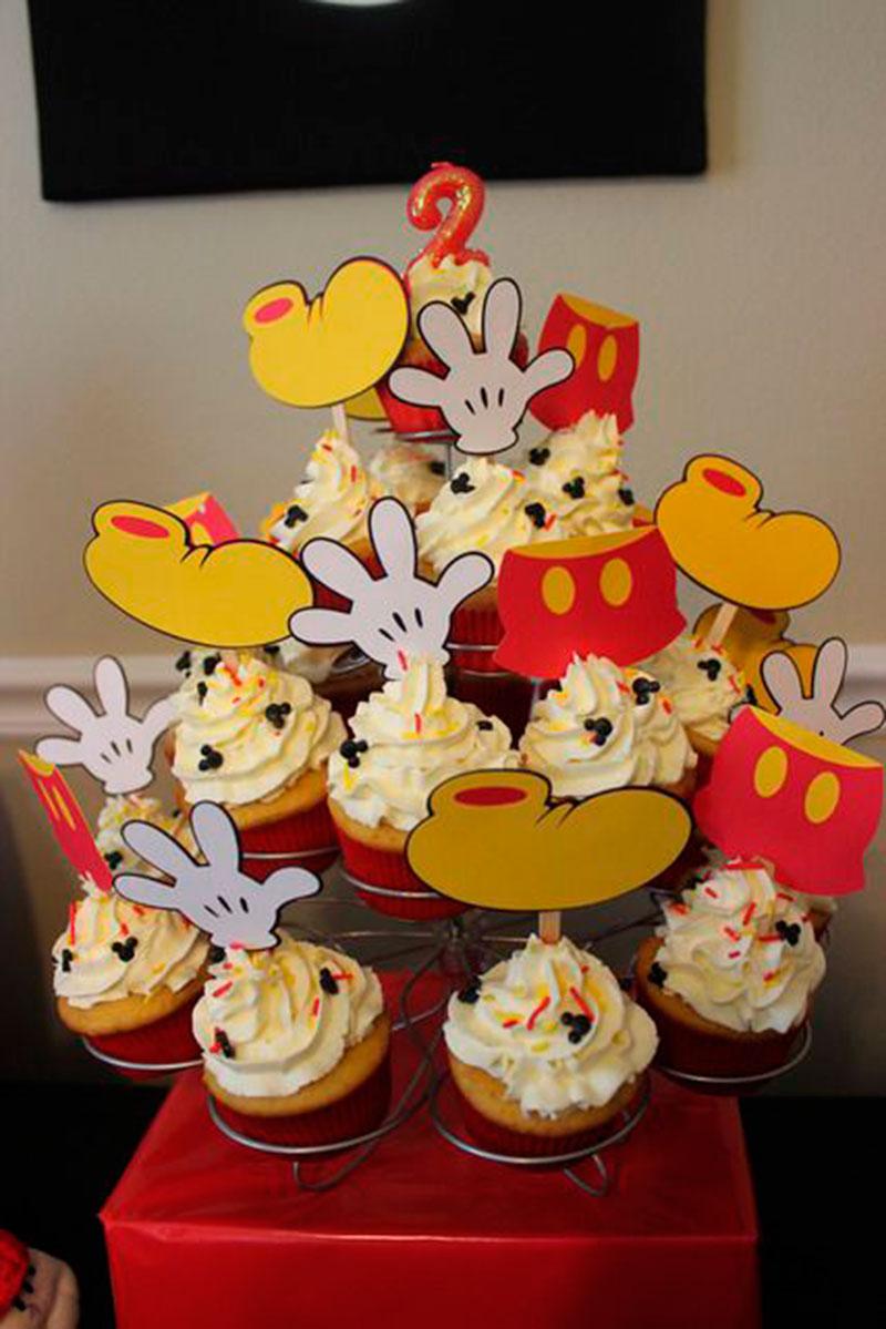 Cupcake do Mickey-5