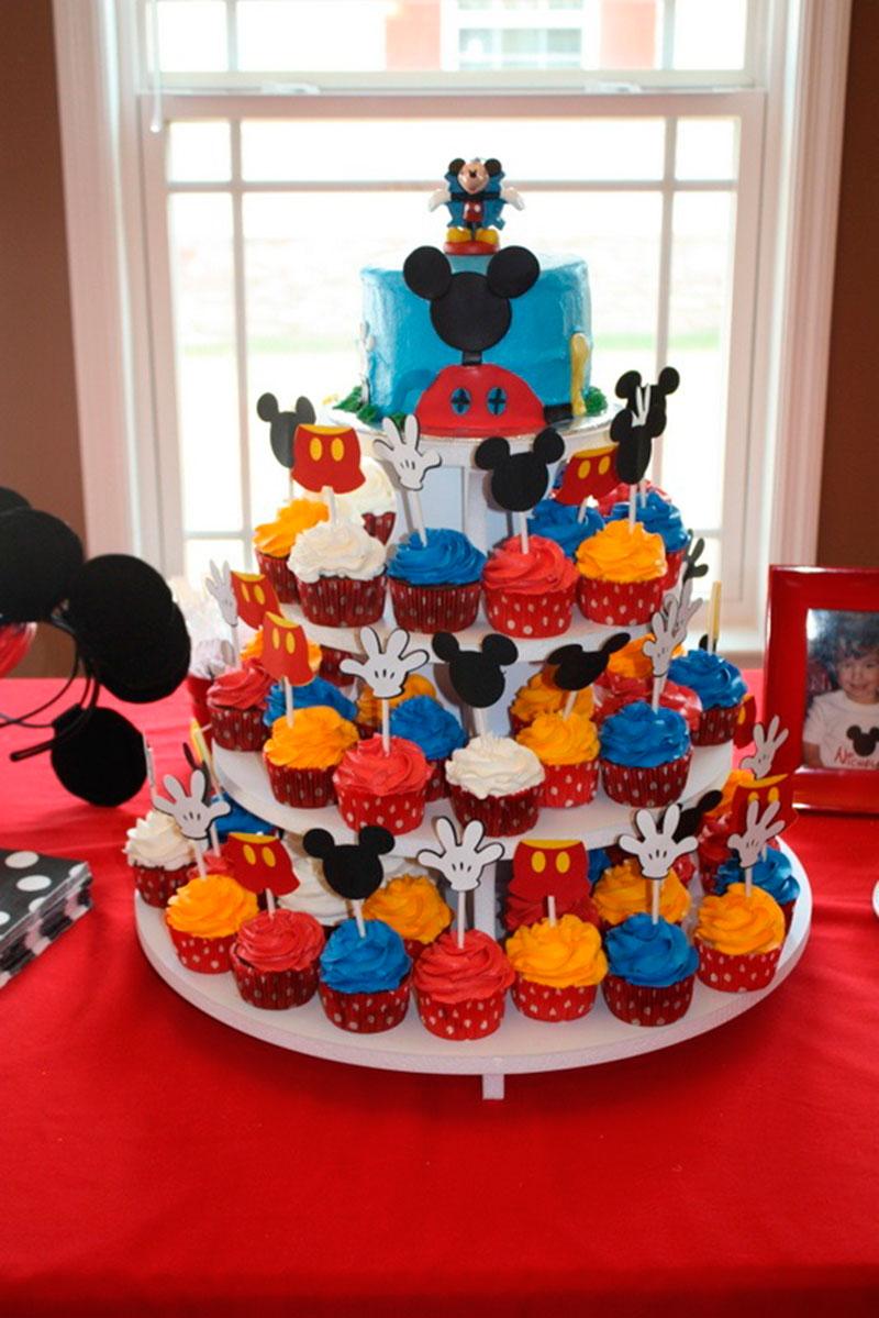 Cupcake do Mickey