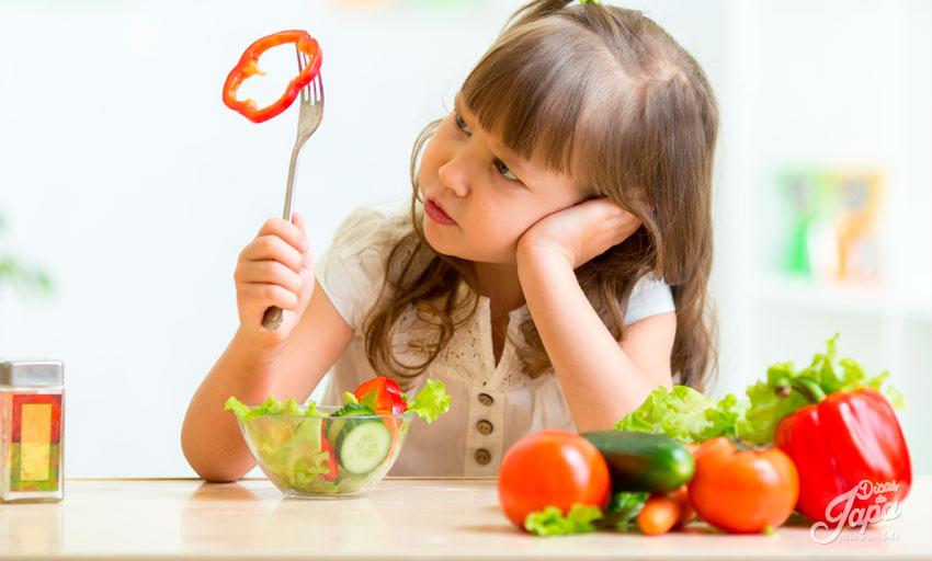 alimentação organizada e equilibrada