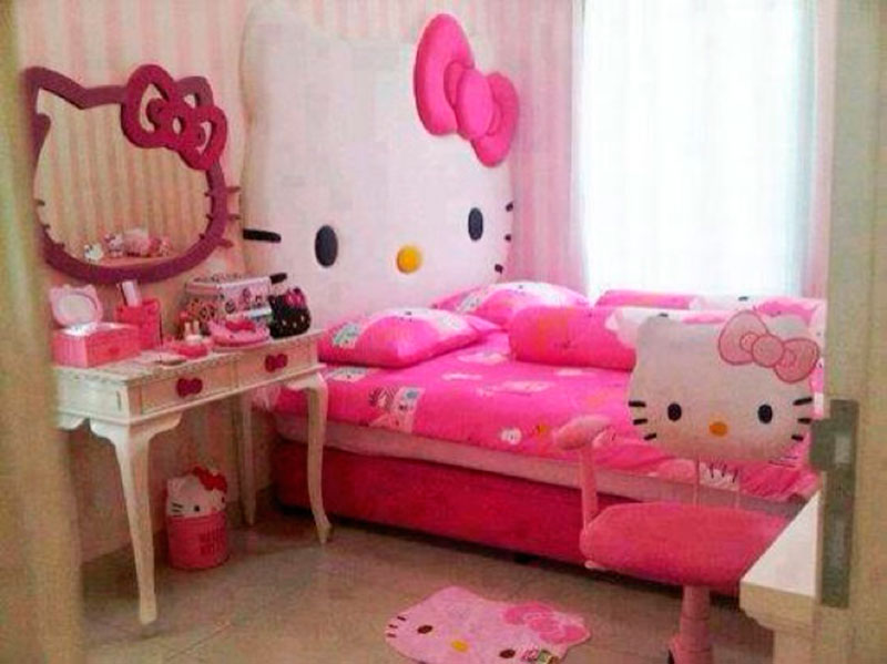 Cama da Hello Kitty 10