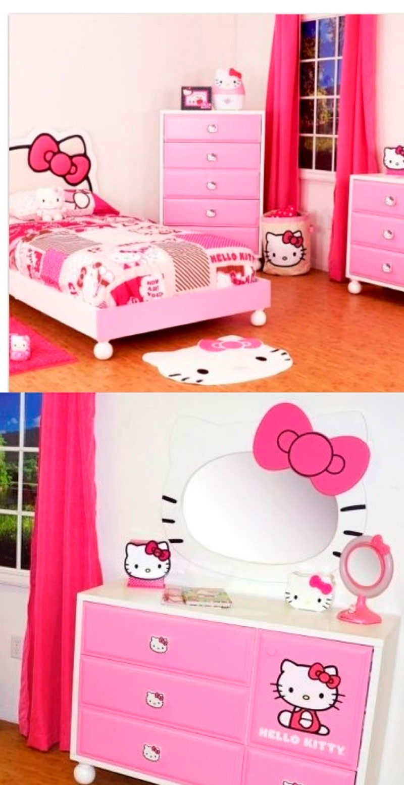 Cama da Hello Kitty 11