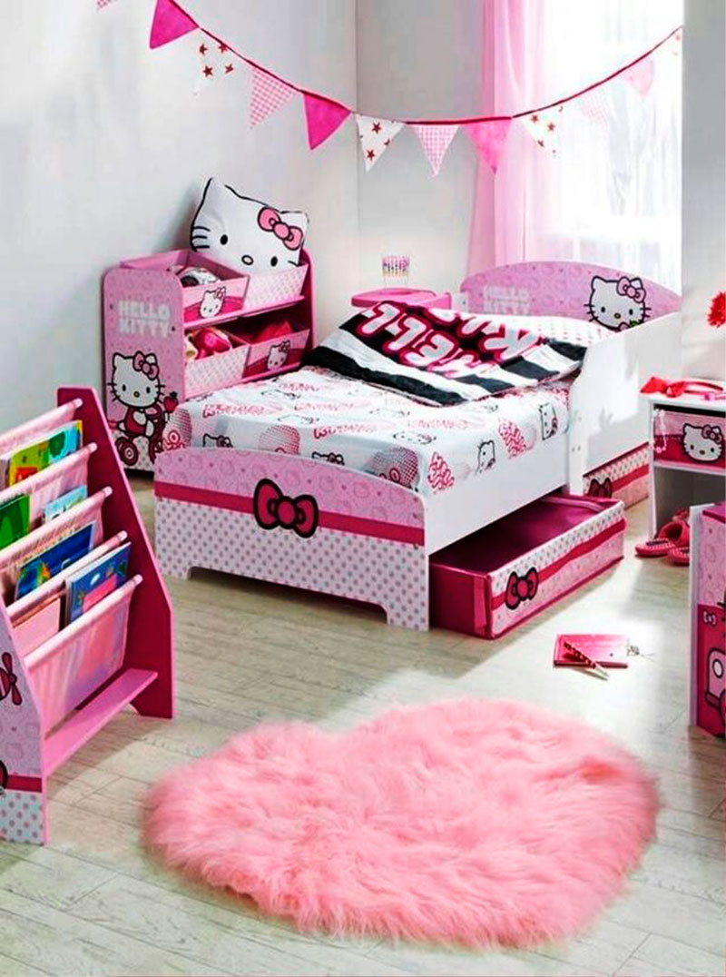 Cama da Hello Kitty 5