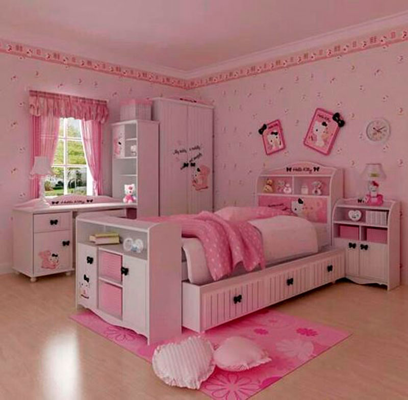 Cama da Hello Kitty 7
