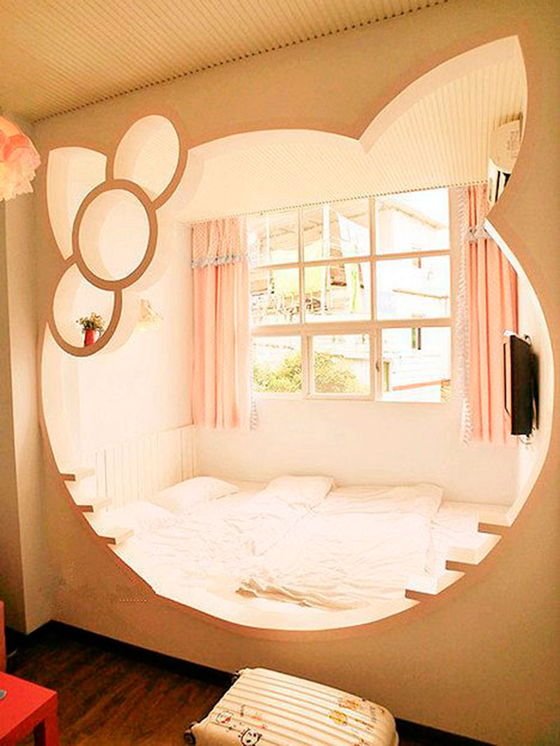 Cama da Hello Kitty 9