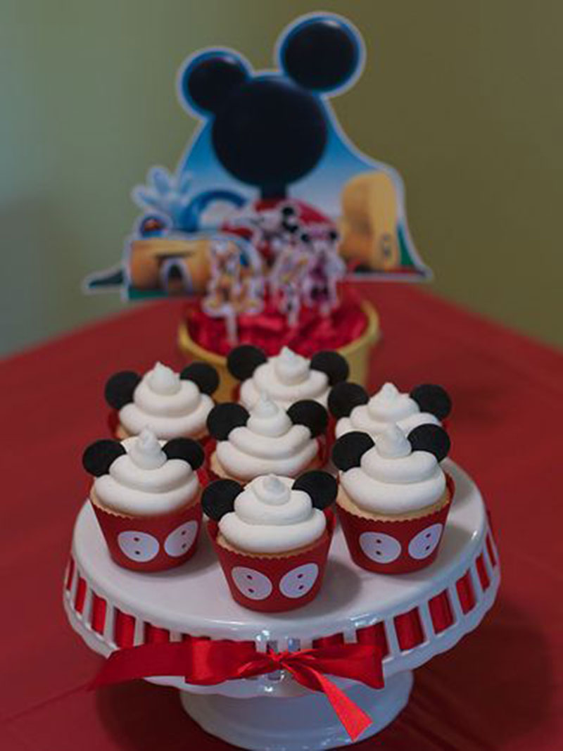 orelhinha do Mickey-cupcake