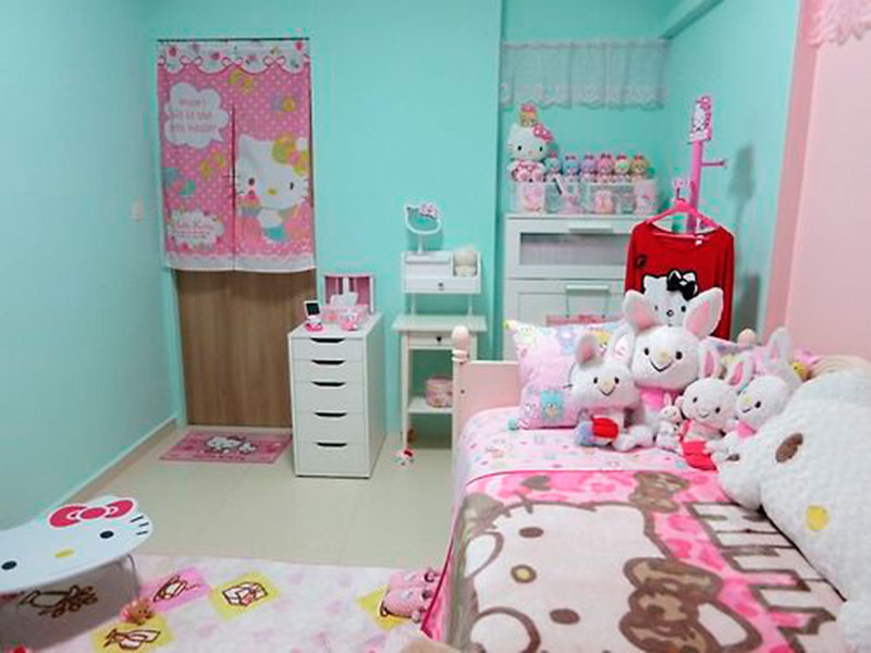 Quarto da Hello Kitty 3