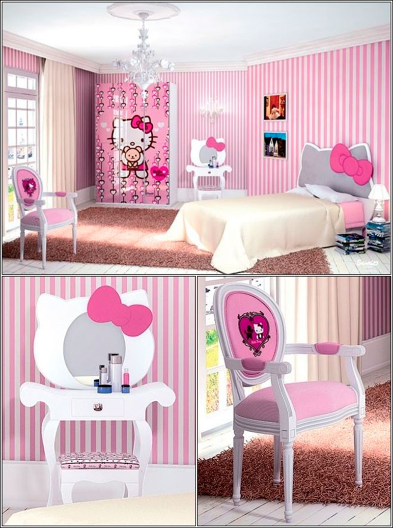 Quarto da Hello Kitty 8