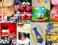 14 temas de festa infantil para você se apaixonar