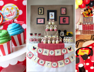 80 ideias para festa do Mickey Mouse
