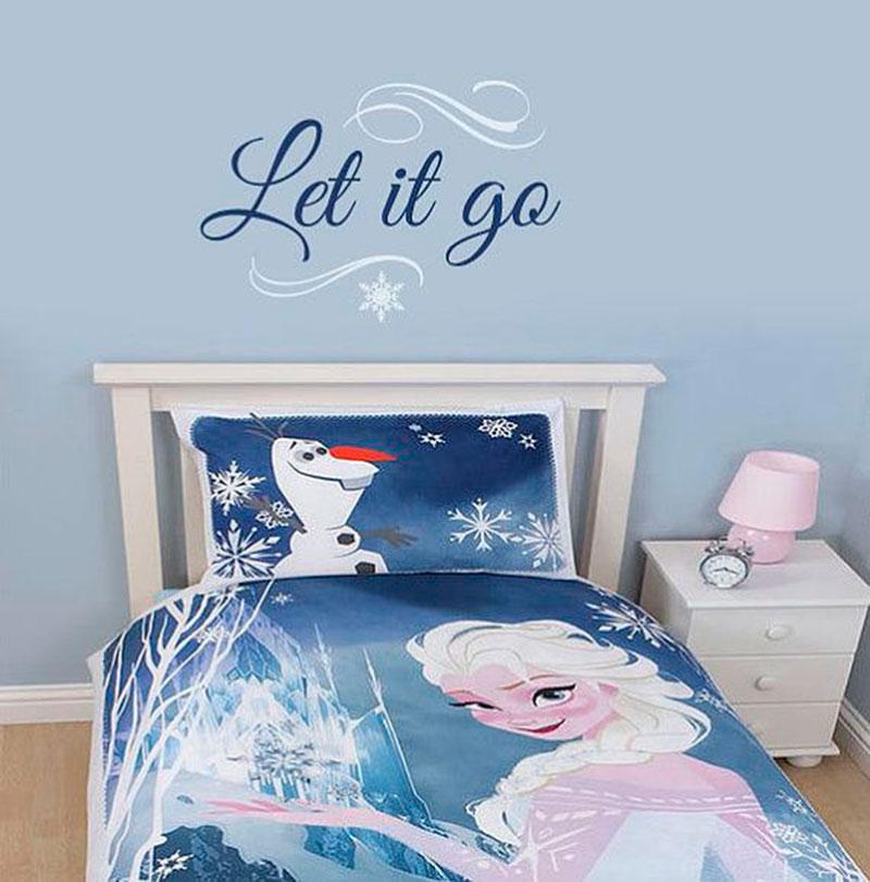 Cama tema Elsa