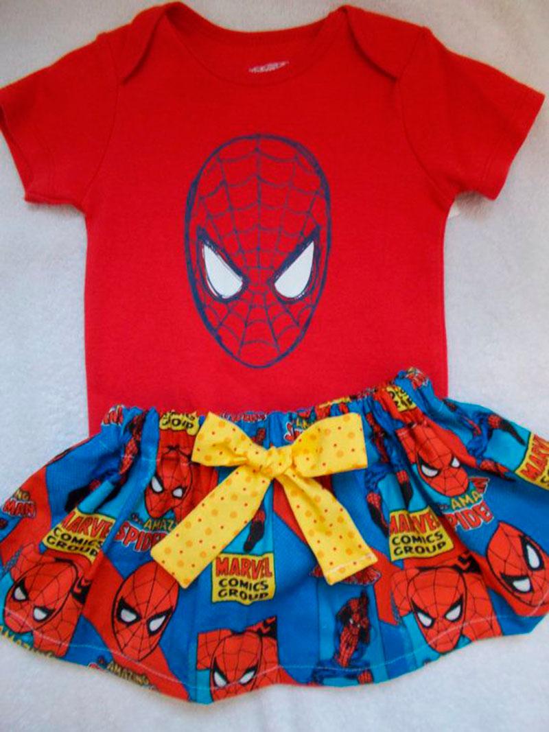 Homem Aranha vestido