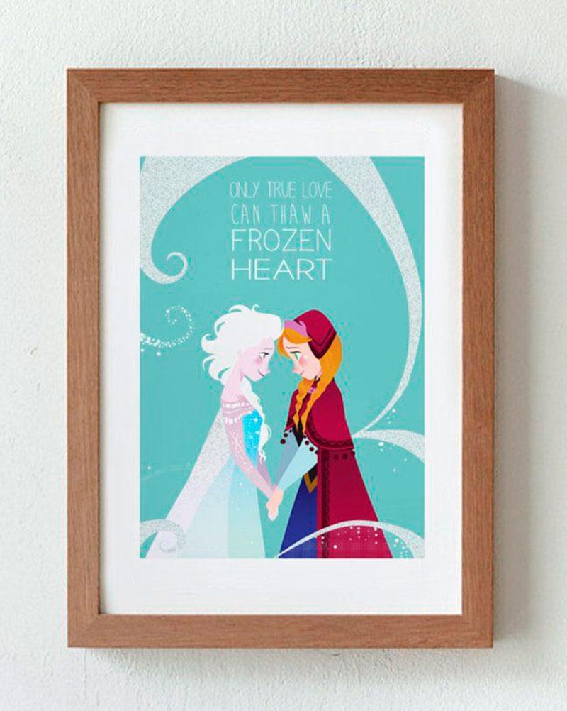 Quadro Elsa e Anna