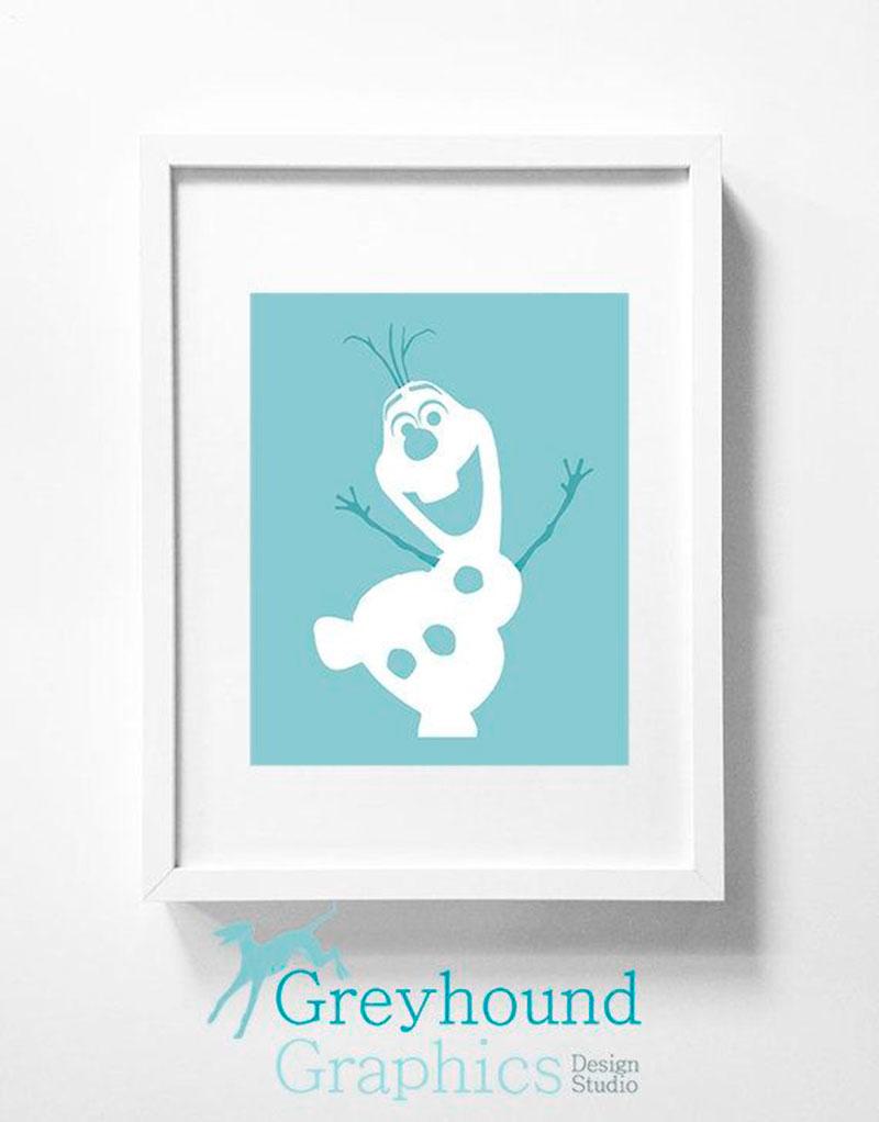 Quadro Frozen Olaf