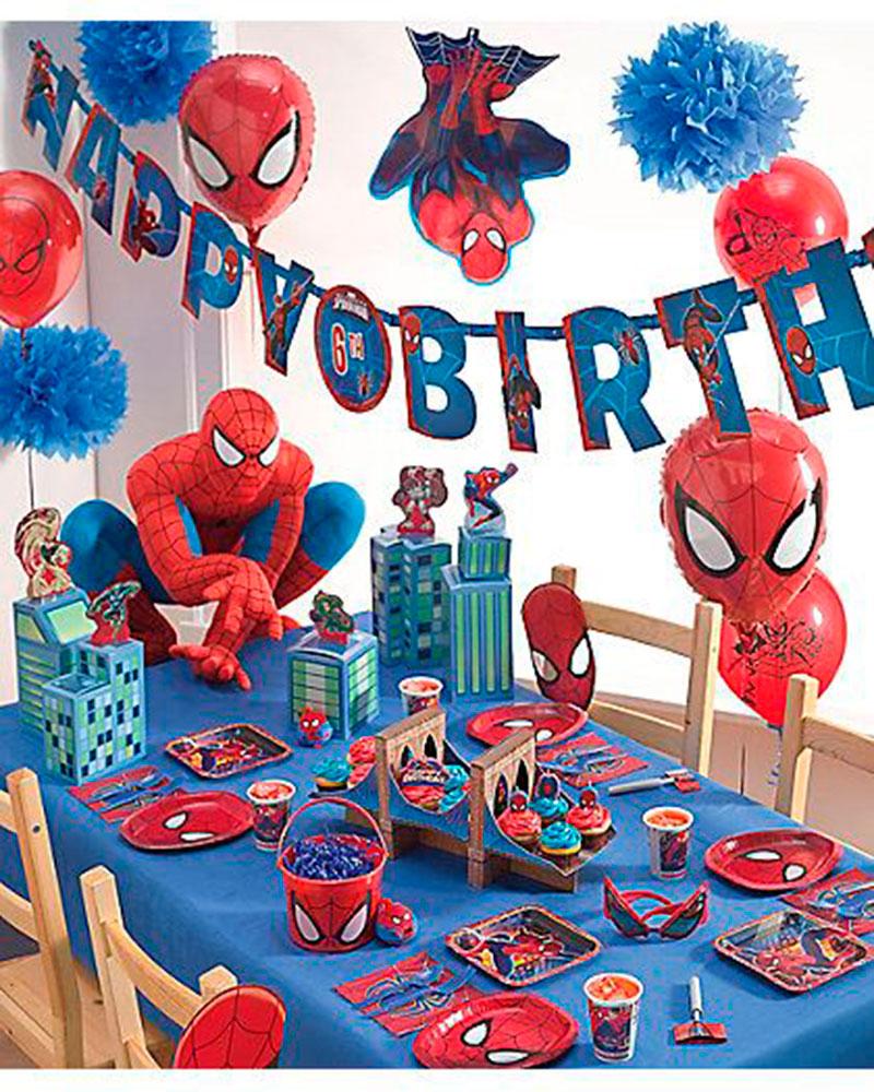 artigos de festa infantil Homem Aranha