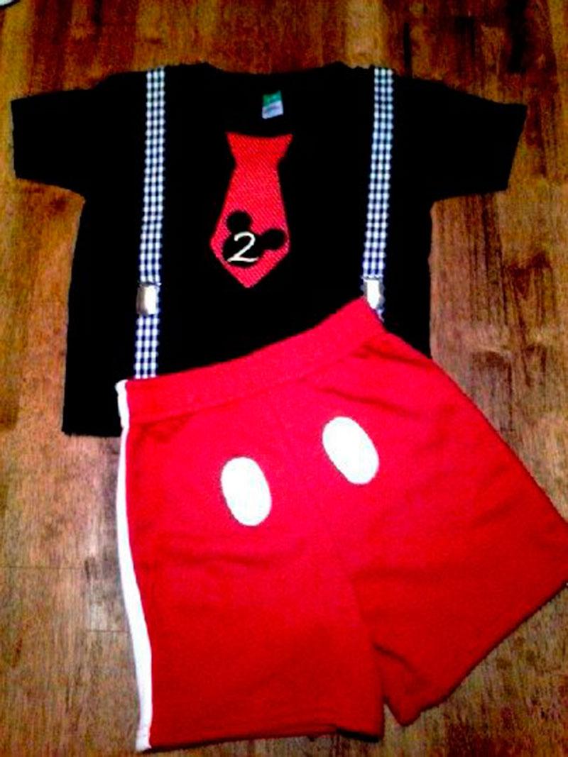 conjunto Mickey