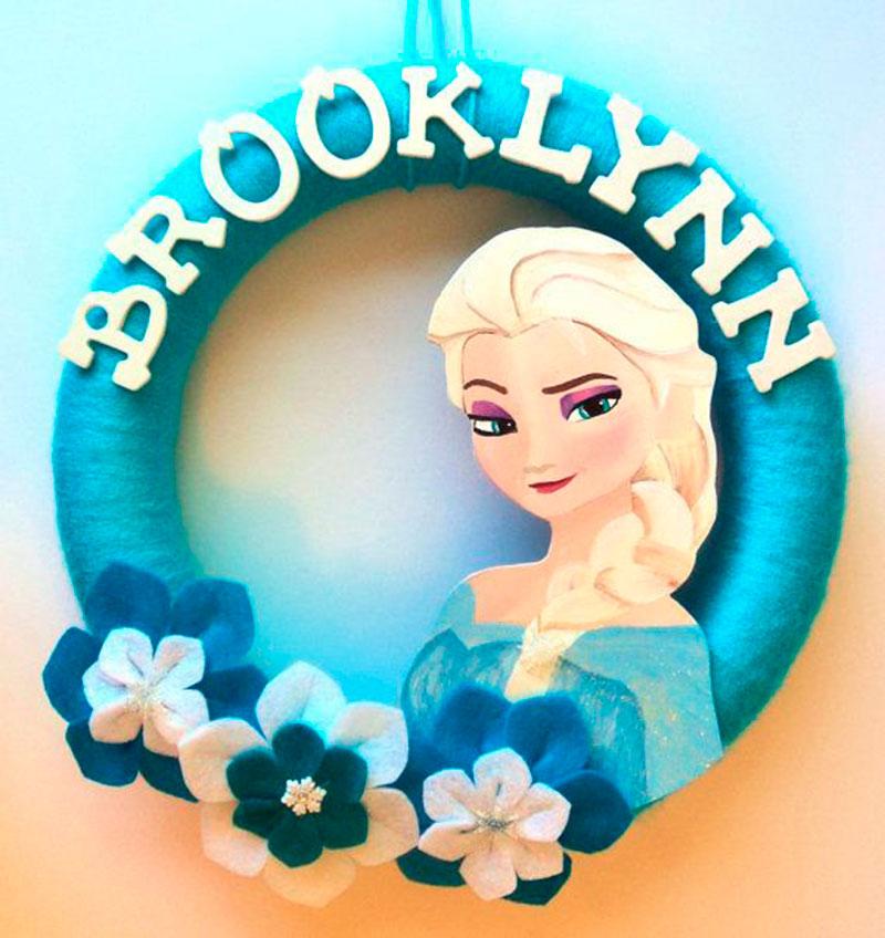 decoracao Frozen nome-2