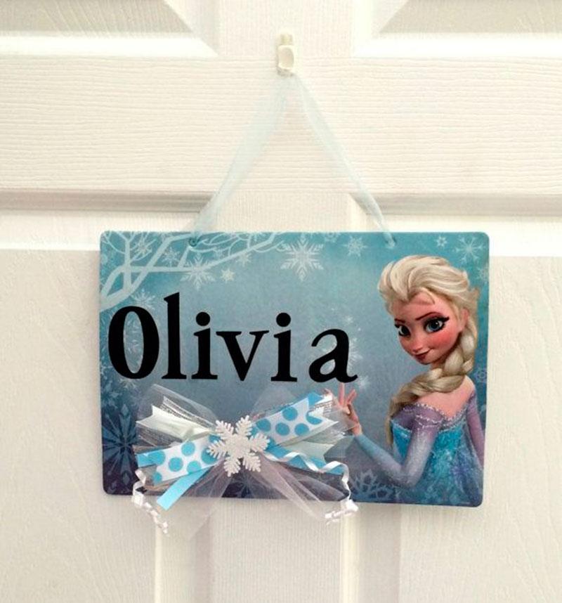 decoracao Frozen nome-3