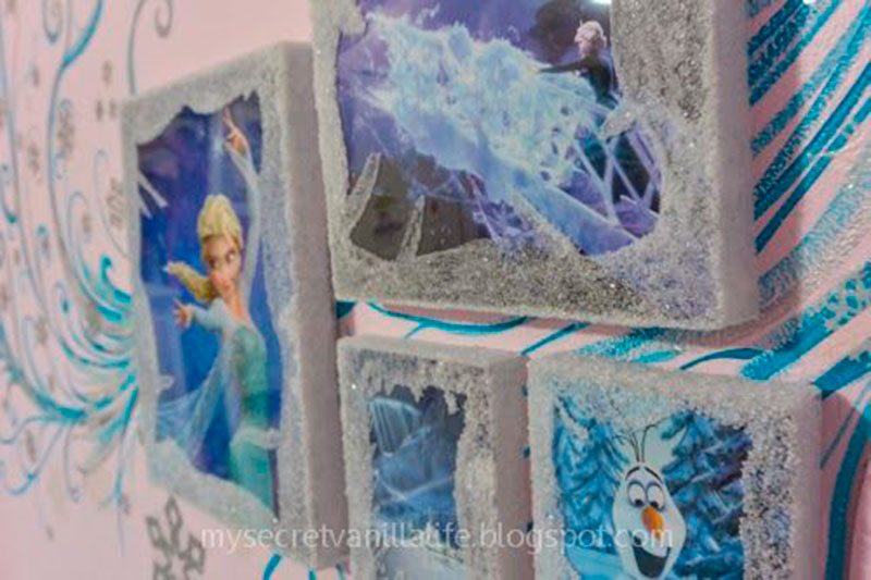 decoracao criativa Frozen