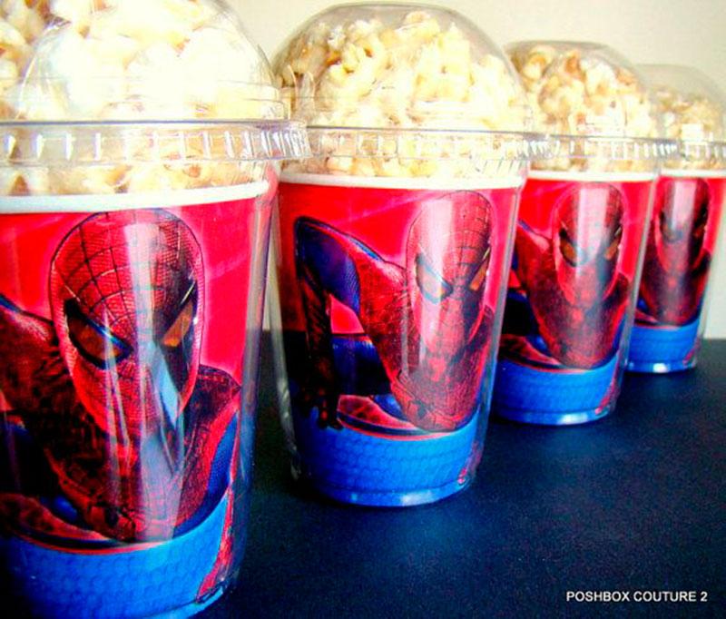 decoração-festa-do-Homem Aranha