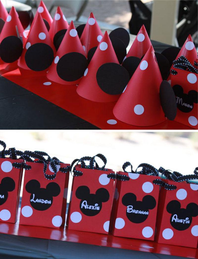 lembrancinha da festa Mickey