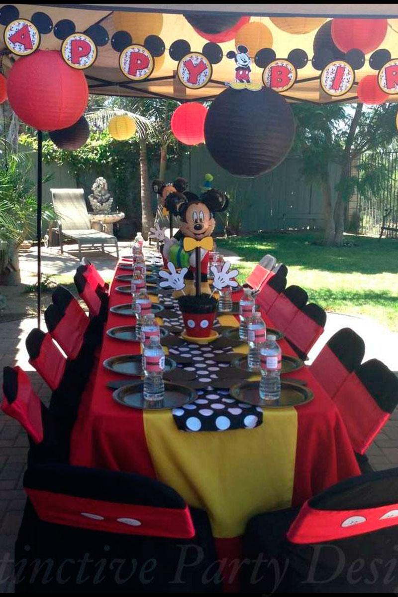 mesa do Mickey para crianças