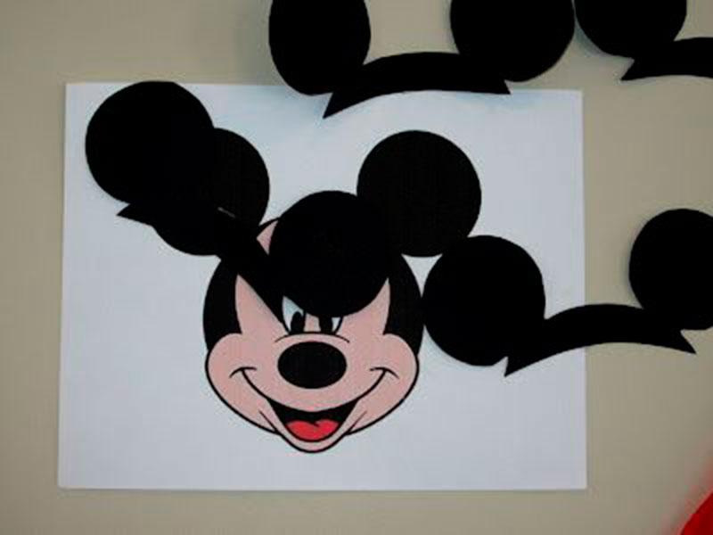orelha do Mickey