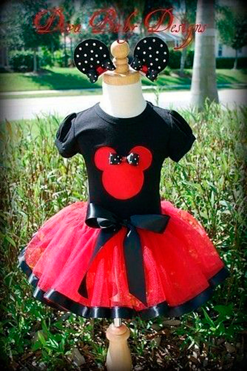 saia linda para festa Mickey