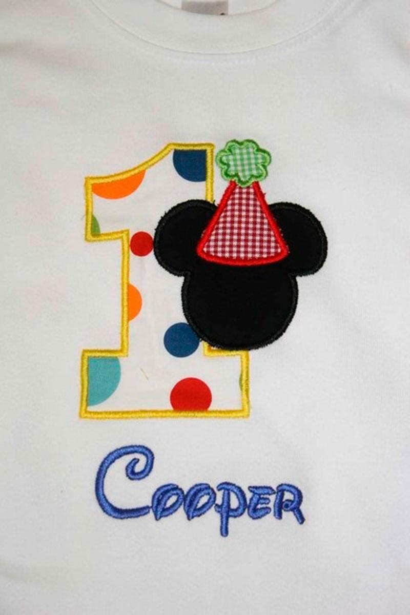 t-shirt Mickey 1 ano