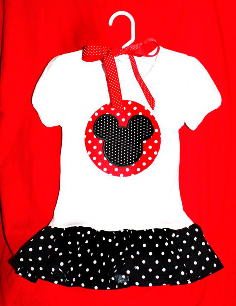 vestido do Mickey