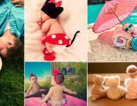 47 ideias de fotos de bebês para fotografar o seu filho