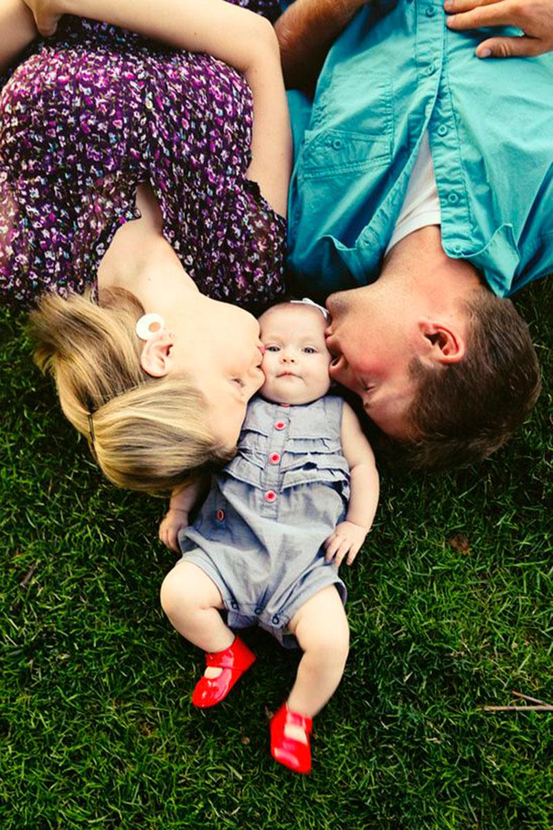 beijo papai e mamãe