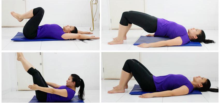 3 exercícios para mamães emagrecerem em casa