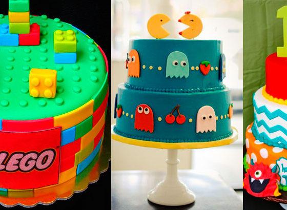 30 ideias para bolo de festa infantil
