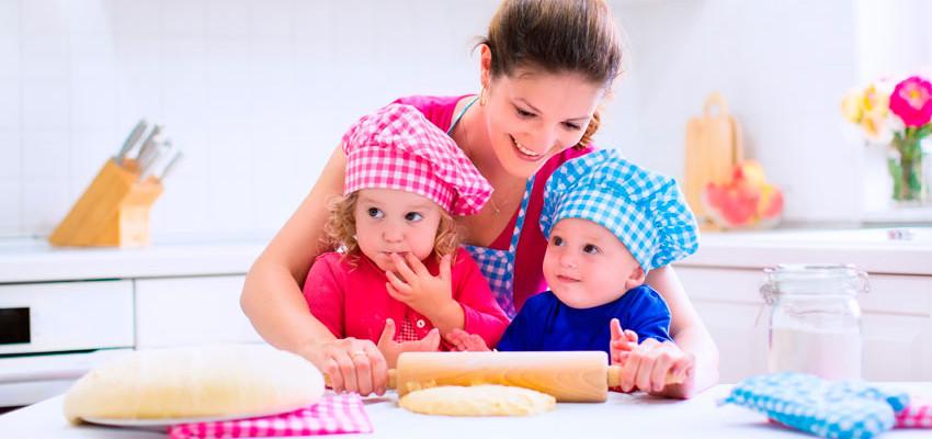 Receitas para crianças: 3 comidinhas para fazer com a mamãe