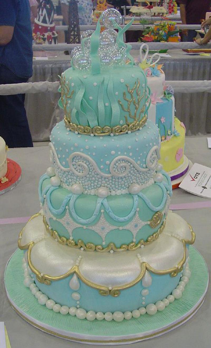 bolo de 4 andares