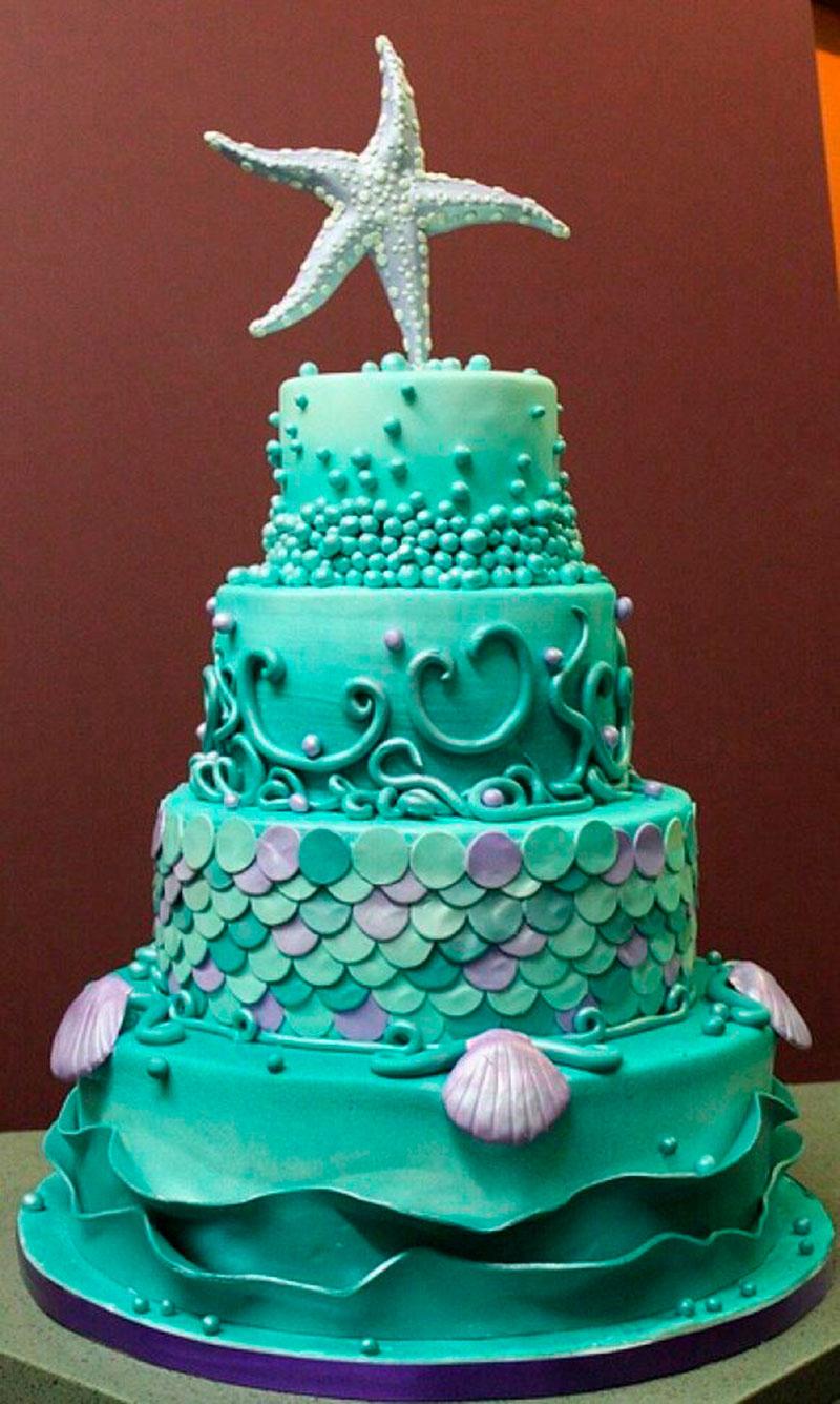 bolo do fundo de mar