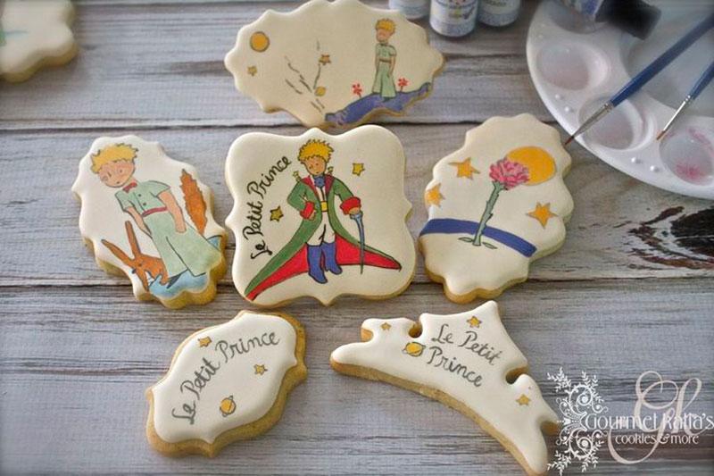 cookie o pequeno príncipe