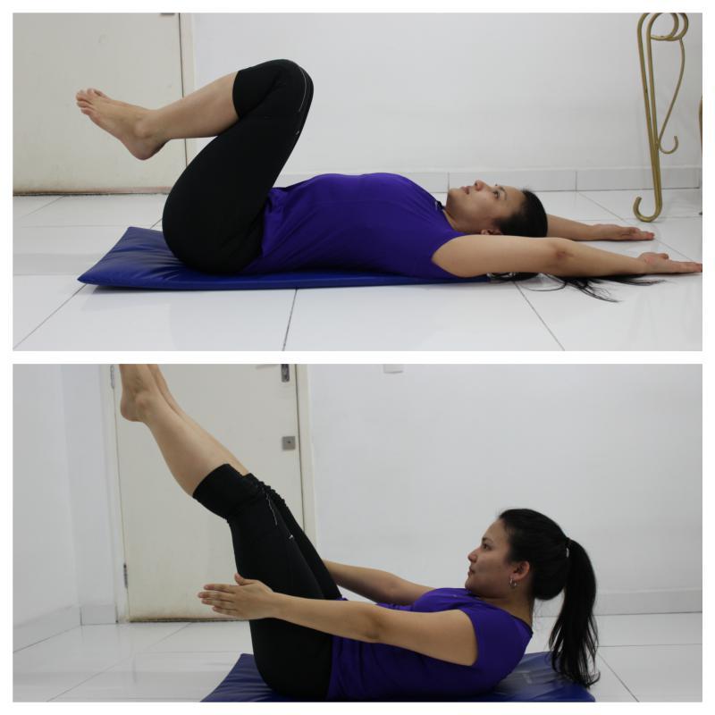 Exercício para abdómen