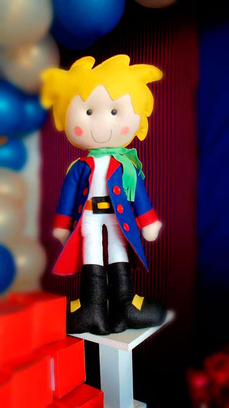 o pequeno príncipe-bonequinho