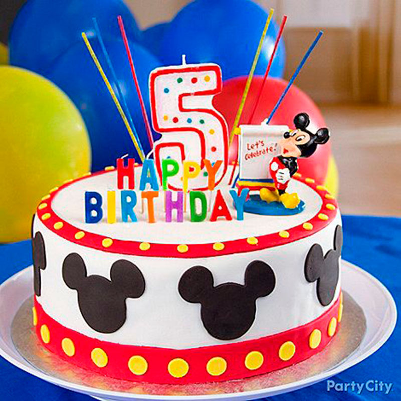Festa Do Mickey 30 Bolos Decorados Para Infantil