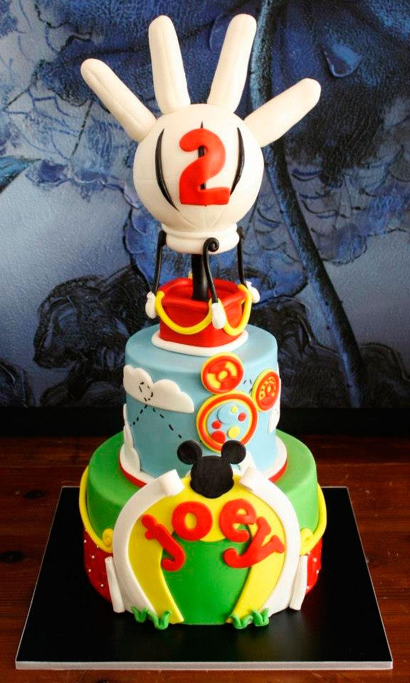 bolo balão