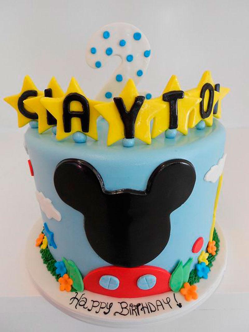ideia de bolo de 2 anos