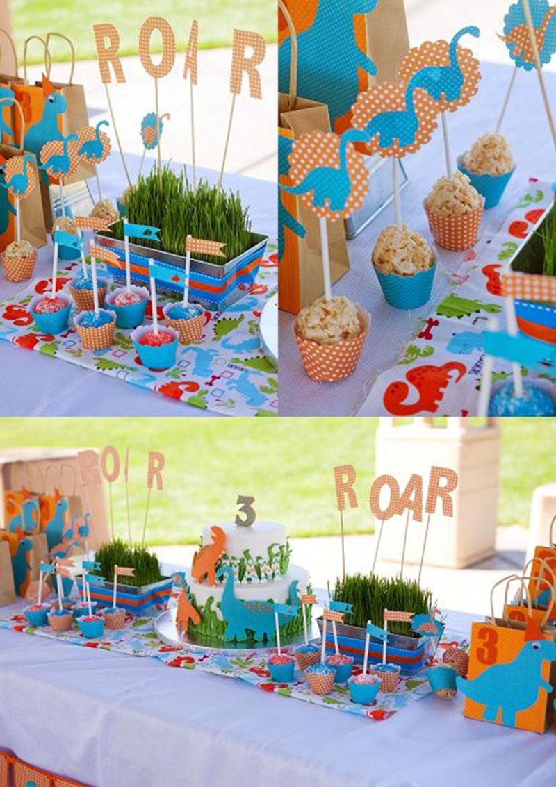 Festa Dinossauro 41 ideias para festa do seu filho # Decoração De Mesa Festa Dinossauro