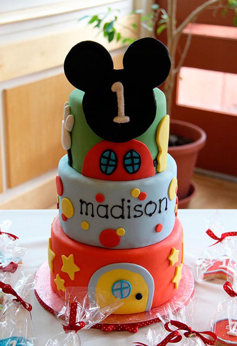 Festa Do Mickey 30 Bolos Decorados Para Festa Infantil