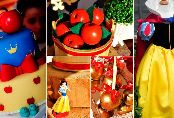 Festa Branca de Neve: 50 inspirações para se encantar